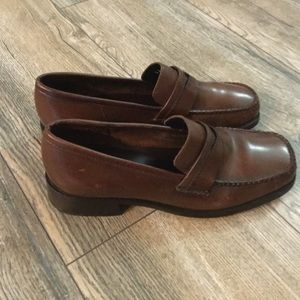 Bass Shoes - Bass Co Leather Loafers